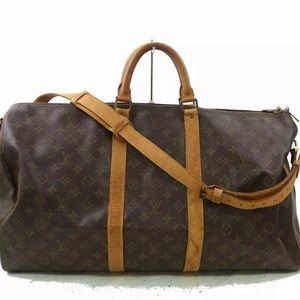 Louis Vuitton Bag Keepall Bandoliere 55